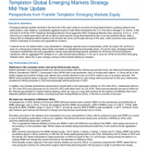 Global Emerging Markets Strategy Mid-Year Update
