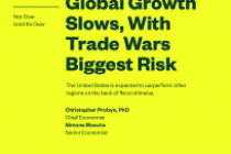 Global Growth Slows, With Trade Wars Biggest Risk