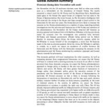 Global outlook summary