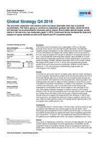 Global Strategy Q4 2018