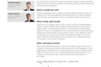 Gold: defying rising rates