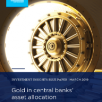 Gold in central banks' asset allocation