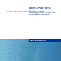 Google econometrics: nowcasting euro area car sales and big data quality requirements