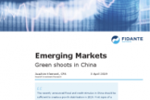 Green shoots in China