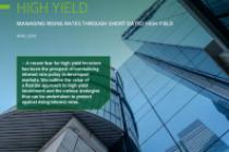 High Yield: Managing rising rates through short date high yield