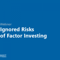 Ignored Risks of Factor Investing