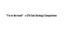 """I'm in the band"" – a CTA Sub Strategy Comparision"