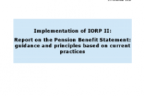 Implementation of IORP II