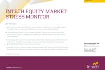 Intech Equity market stress monitor