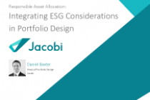Integrating ESG Considerations in Portfolio Design
