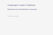 Investeringen in crypto's in Nederland