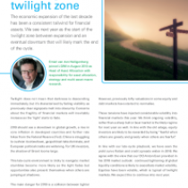 investing in the twilight zone