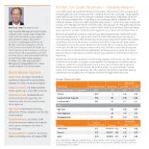 It's Not Too Quiet Anymore — Volatility Returns