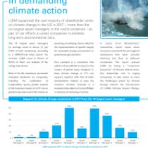 LGIM leads peers in demanding climate action
