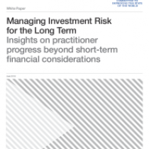 Managing Investment Risk for the Long Term