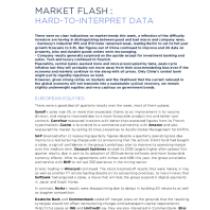 Market Flash: Hard-To-Interpret Data