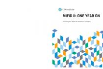 Mifid II: One year on