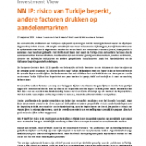 NN IP: risico van Turkije beperkt, andere factoren drukken op aandelenmarkten