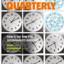 Now is the time for sustainability investing
