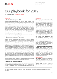 Our playbook for 2019