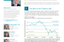 Our take on the Treasury rally
