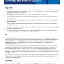 Overview of markets in Q4 2017