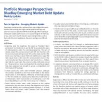Pain in Argentina – Emerging Markets Update