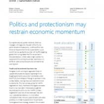 Politics and protectionism may restrain economic momentum