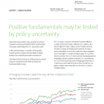 Positive fundamentals may be tested by policy uncertainty