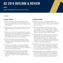 Q3 2018 Outlook and Review