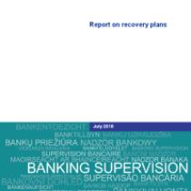 Report on recovery plans