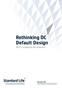 Rethinking DC Default Design