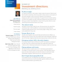 Rethinking risk, rethinking returns