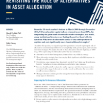 Revisiting the Role of Alternatives in Asset Allocation