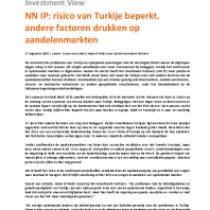 Risico van Turkije beperkt, andere factoren drukken op aandelenmarkten