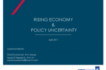 Rising Economy & Policy Uncertainty