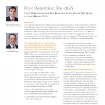 Risk Retention (Re-do?)