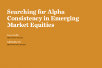 Searching for Alpha Consistency in Emerging Market Equities