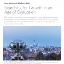 Searching for Growth in an Age of Disruption