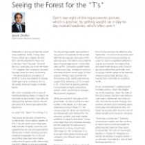 """Seeing the Forest for the """"T's"""""""