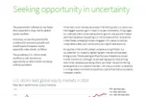 Seeking opportunity in uncertainty