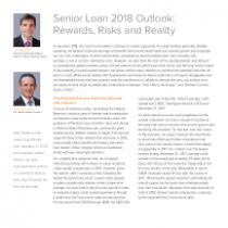 Senior Loan 2018 Outlook: Rewards, Risks and Reality