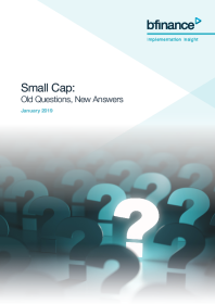 Small Cap: Old Questions, New Answers