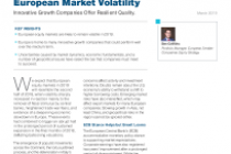 Small‑Caps Can Weather European Market Volatility