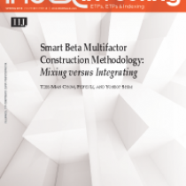 Smart Beta Multifactor Construction Methodology:
