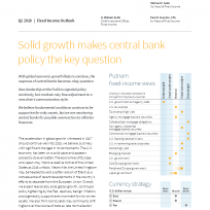 Solid growth makes central bank policy the key question