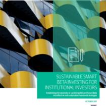 Sustainable smart beta investing for institutional investors