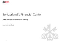 Switzerland's Financial Center
