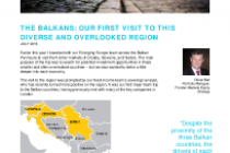The Balkans: Our visit to this diverse and overlooked region