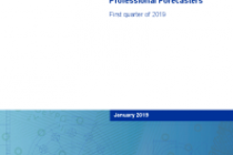 The ECB Survey of Professional Forecasters (SPF) – First quarter of 2019